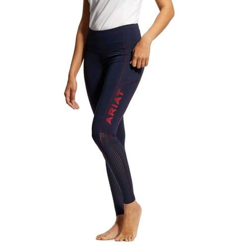 Ariat EOS Full Seat Tights - Team Colours