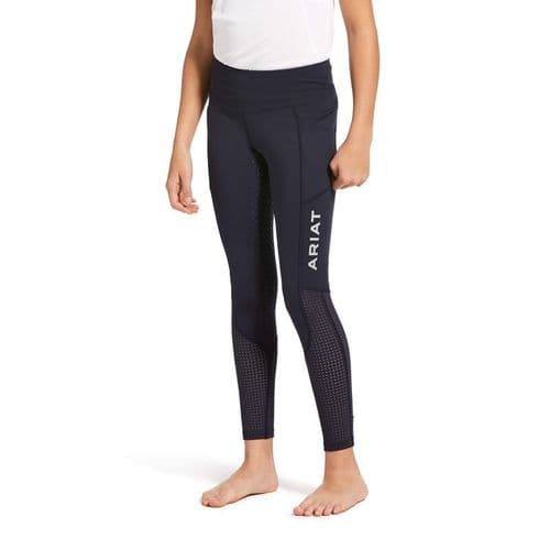 Ariat EOS Full Seat Tights Youth - Navy