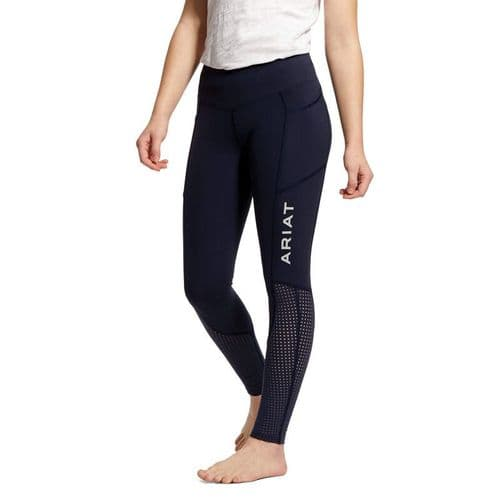 Ariat EOS Knee Patch Tights Youth - Navy