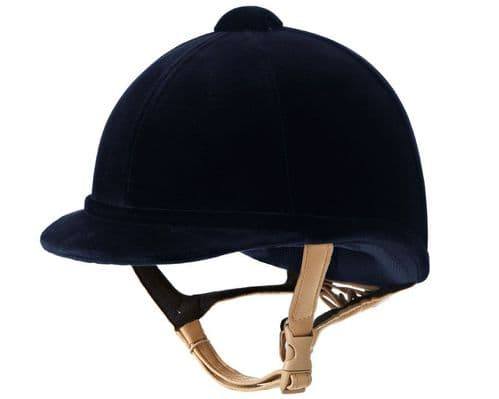 Charles Owen Hampton Riding Hat - Round Fit