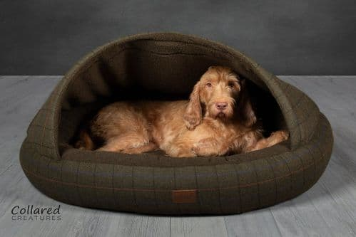 Collared Creatures Luxury Dog Cocoon Bed