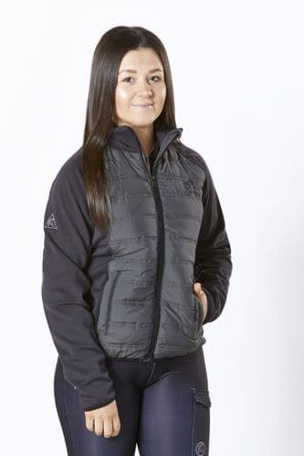 Firefoot  Clifton Quilted Jacket Charcoal