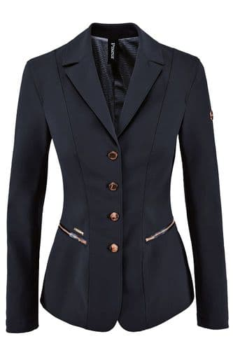 Pikeur Paulin Competition Jacket  Navy with Rose Gold