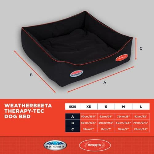 Weatherbeeta Therapy-Tec Dog Bed - 30% OFF