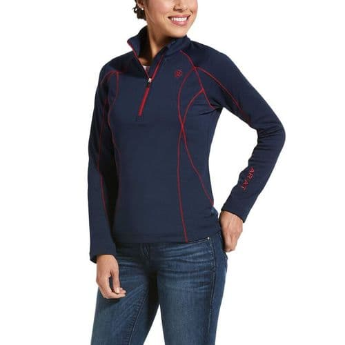 Womens Ariat Conquest 2.0 1/2 Zip Sweatshirt
