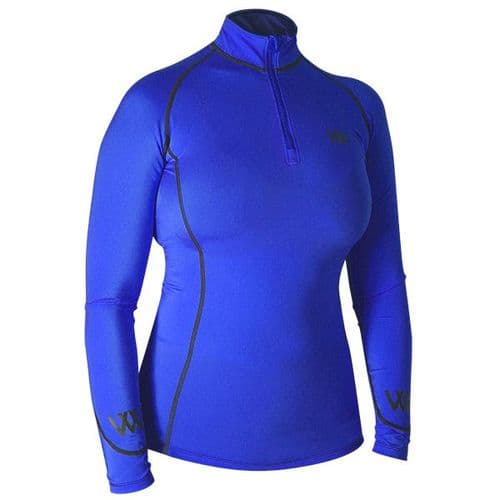 Woof Wear Colour Fusion Performance Baselayers  - Electric Blue