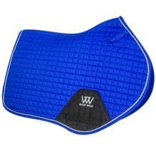 Woof  Wear Colour Fusion Saddle Cloths - CC Electric Blue