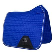 Woof  Wear  Colour Fusion Saddle Cloths - DR Electric Blue