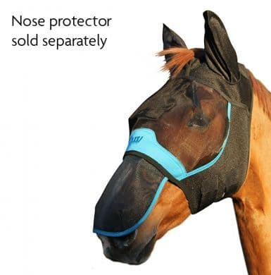 Woof Wear Fly Mask with 3D Ears - 60% UV