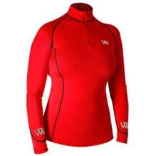 Woof Wear  Performance Baselayers  - Royal Red