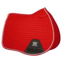 Woof  Wear Royal Red Saddle Cloth- GP