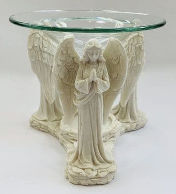 11cm Tall IVORY 3-GUARDIAN ANGELS PRAYING Oil Burner