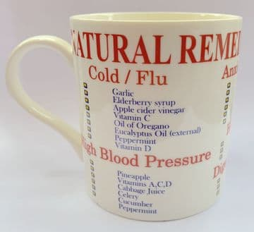 Fine China Coffee Mug in Gift Box - Natural Remedy Reference Guide