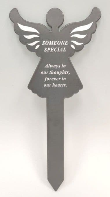Graveside Memorial Angel Stake SOMEONE SPECIAL DF18588P