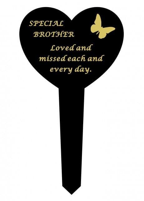 Graveside Memorial Butterfly Stake SPECIAL BROTHER DF17917J