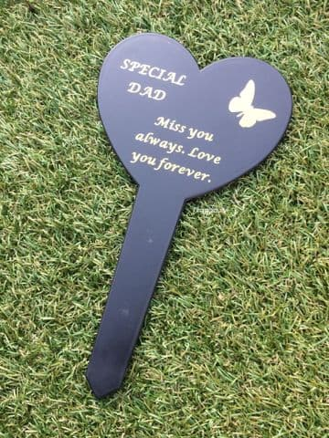Graveside Memorial Butterfly Stake SPECIAL DAD DF17917D