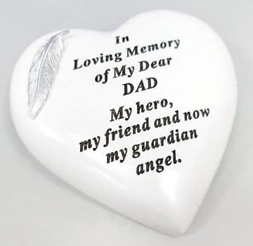 Large 15cm In Loving Memory of My DEAR DAD Grave Stone  DF17973D