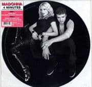 "4 MINUTES - UK 12"" PICTURE DISC (W803T)"