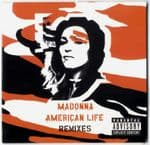 AMERICAN LIFE (REMIXES) - UK  6 TRACK PROMO CD