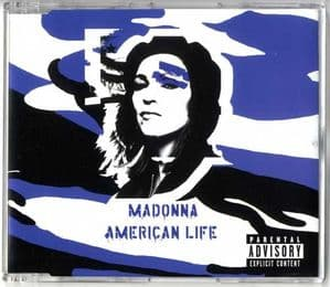 AMERICAN LIFE - UK CD SINGLE (W603CD2)