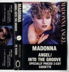 ANGEL / INTO THE GROOVE - CANADA MAXI CASSETTE SINGLE
