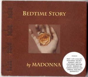 BEDTIME STORY - UK LIMITED EDITION CD (W0285CDX)