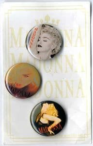 BLOND AMBITION TOUR - 1990 BADGE PACK