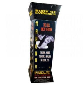 BODY OF EVIDENCE - UK PROMO  3.5FT IN-STORE FLOOR  DISPLAY