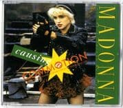 CAUSING A COMMOTION - UK / GERMANY CD SINGLE