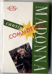 CAUSING A COMMOTION - USA 2 TRACK CASSETTE (SEALED)