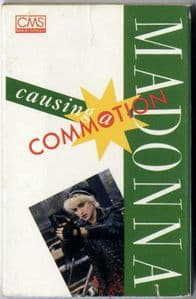CAUSING A COMMOTION - USA 4 TRACK CASSETTE