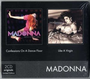 CONFESSIONS / LIKE A VIRGIN - FRANCE CD ALBUM LIMITED EDITION BOX SET