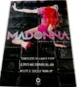 CONFESSIONS ON A DANCE FLOOR - MEXICAN 6ft PROMO PVC DISPLAY BANNER