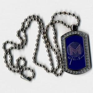 CONFESSIONS TOUR - OFFICIAL NECKLACE DOG TAG (SEALED) (1)
