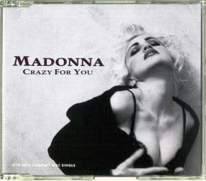 CRAZY FOR YOU (91) - UK / EU PICTURE CD SINGLE (W0008CD)