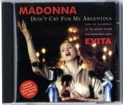 DON'T CRY FOR ME ARGENTINA - AUSTRALIA CD + POSTER