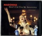DON'T CRY FOR ME ARGENTINA - USA FLIP CASE MAXI CD SINGLE