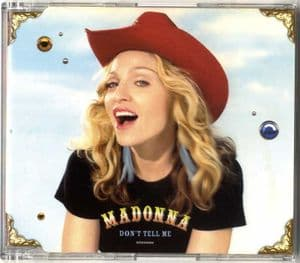 DON'T TELL ME - AUSTRALIA CD SINGLE (2)