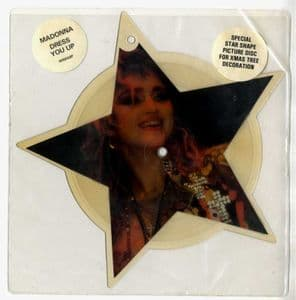 DRESS YOU UP - UK STAR SHAPED PICTURE DISC (W8848P)