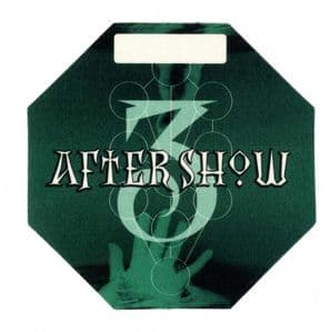 DROWNED WORLD TOUR - AFTER SHOW PASS #3