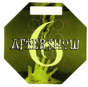 DROWNED WORLD TOUR - AFTER SHOW PASS #6