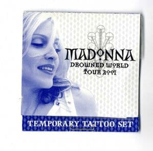 DROWNED WORLD TOUR - TEMPORARY TATTOO SET