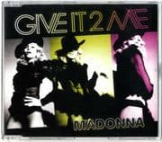 GIVE IT 2 ME - UK CD SINGLE (W809CD2)