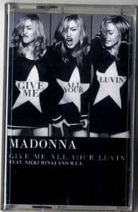 GIVE ME ALL YOUR LUVIN - CASSETTE SINGLE (SEALED)