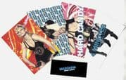 HARD CANDY - UK PROMO LAUNCH PARTY POSTCARD SET