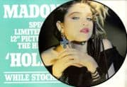 """HOLIDAY - UK 12"""" PICTURE DISC + PROMO INSERT"""
