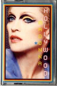 HOLLYWOOD (REMIXES) - CASSETTE SINGLE (SEALED)