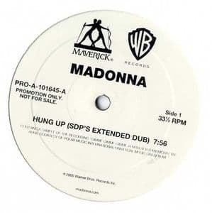 HUNG UP (SDP's EXTENDED DUB) - USA PROMO 12