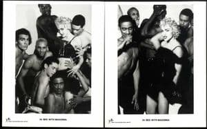 IN BED WITH MADONNA - 6x UK PROMO PRESS PHOTOS