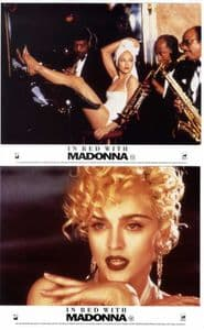 IN BED WITH MADONNA - SET OF 6 CINEMA PROMO LOBBY CARDS